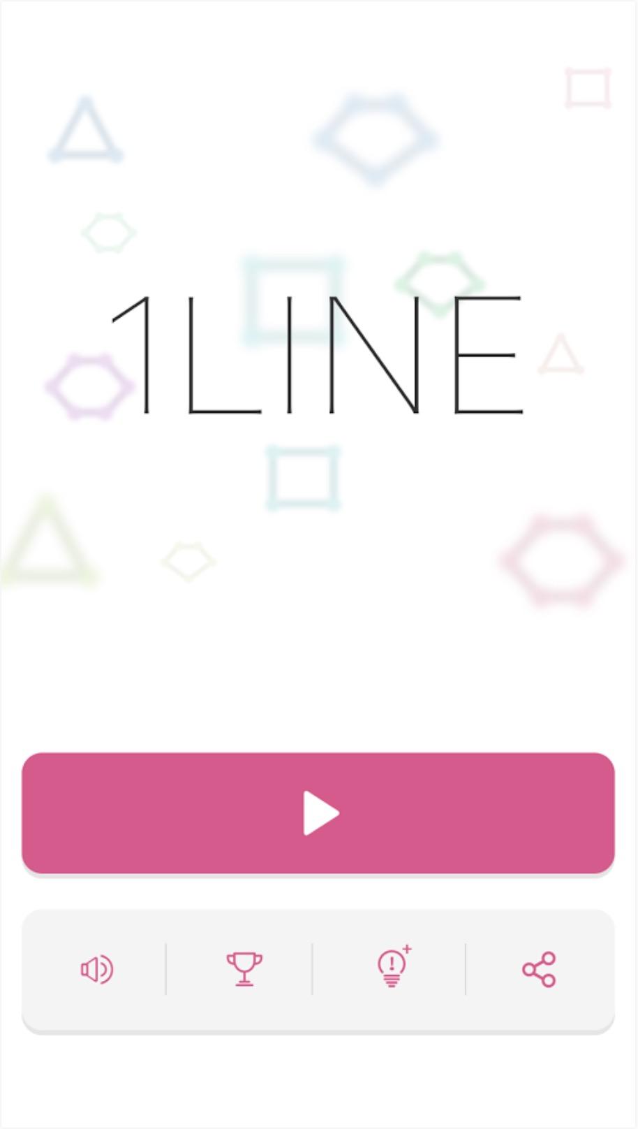 頭が良くなる一筆書きパズルゲーム1LINE